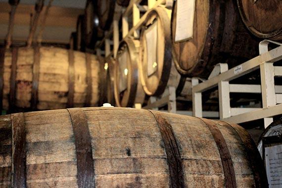 Stimmungsvolles Rum- und Whiskytasting im Gastronimiebetrieb