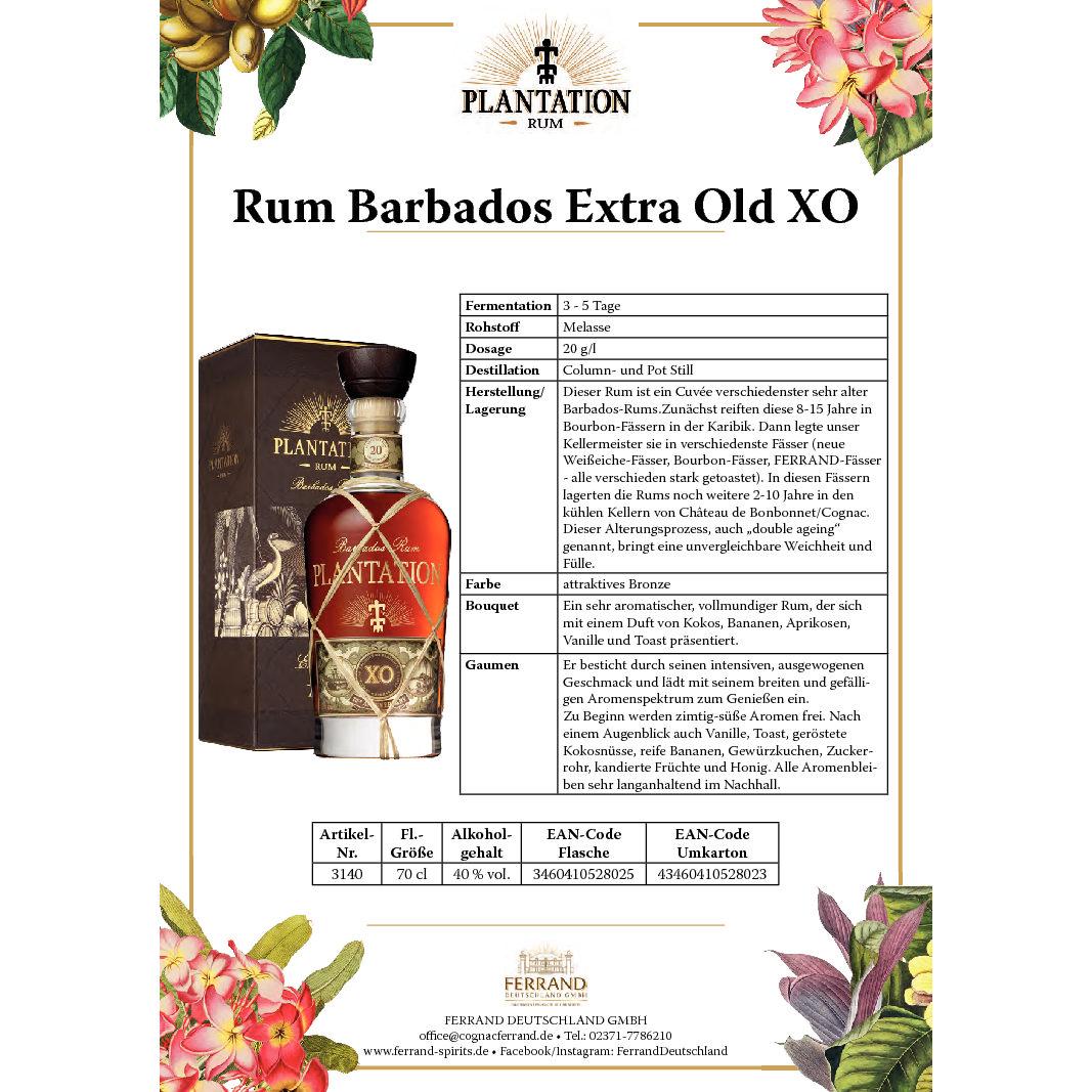 Plantation BarbadosXO